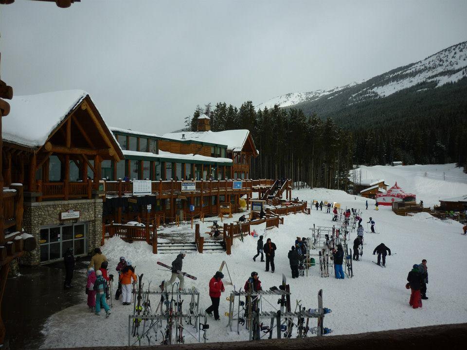 Ski slopes  Banff