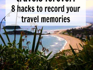 Preserve your travels forever: 8 hacks to record your travel memories
