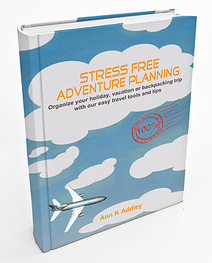 My fist book Stress Free Adventure Planning