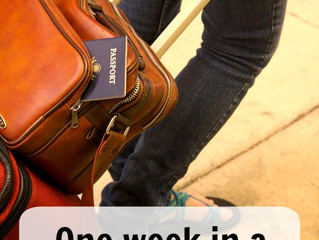 One week in a carry-on – what to pack and how to pack it