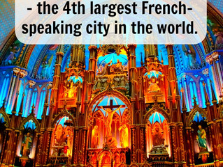 Explore historic Montréal – the 4th largest French-speaking city in the world.