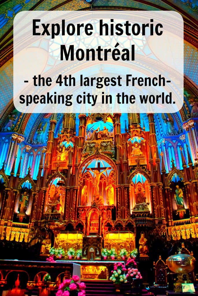 Explore historic Montreal