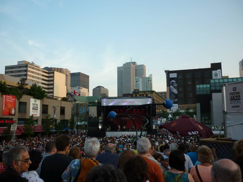 Jazz festival in Montreal