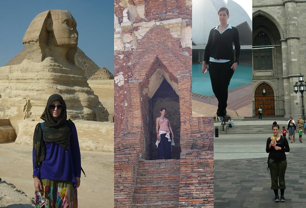Some of my less glamorous travel looks