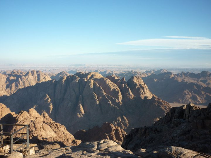 Mt Sinai views, Egypt