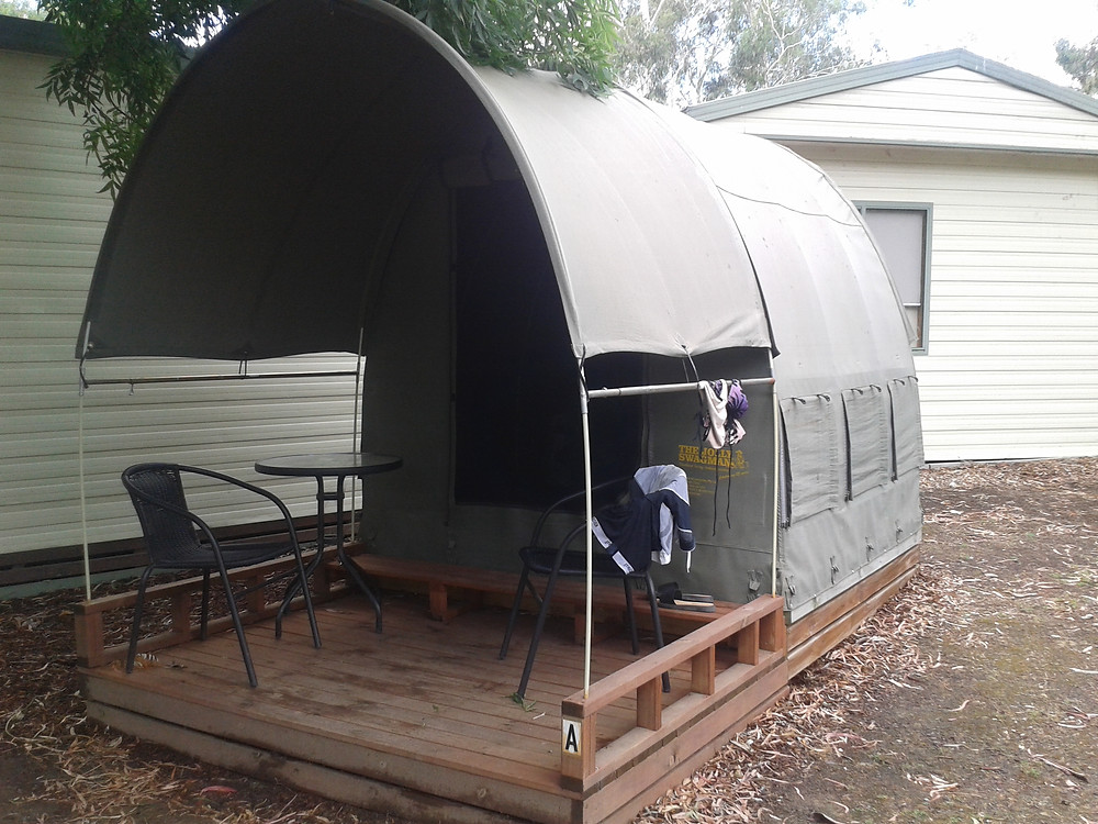 Tenting Melbourne