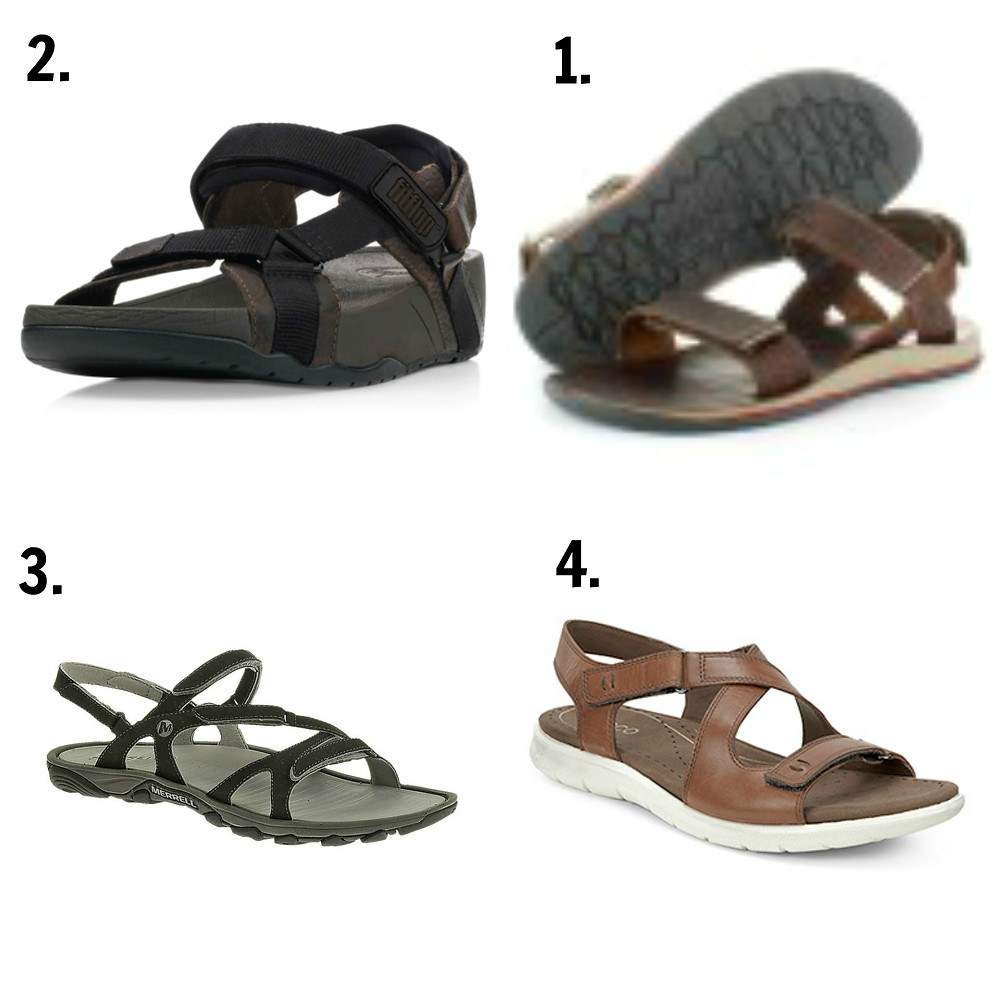 Best sandals for backpacking