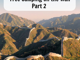 The Great Wall of China – Free Camping on the Wall Part 2
