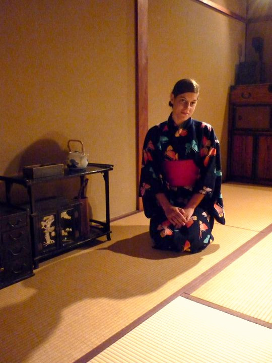 Ann K Addley in Japan