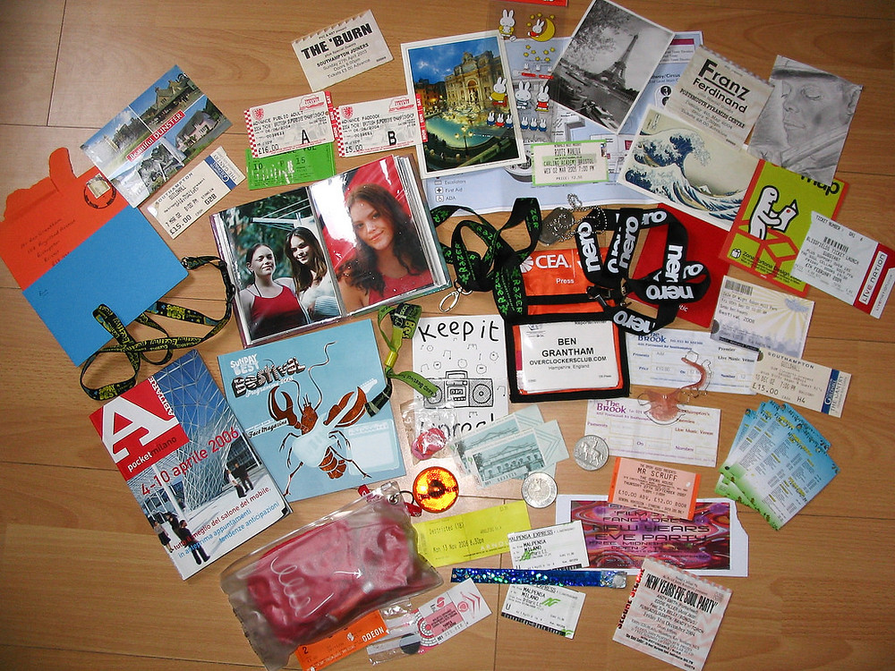 travel keepsakes