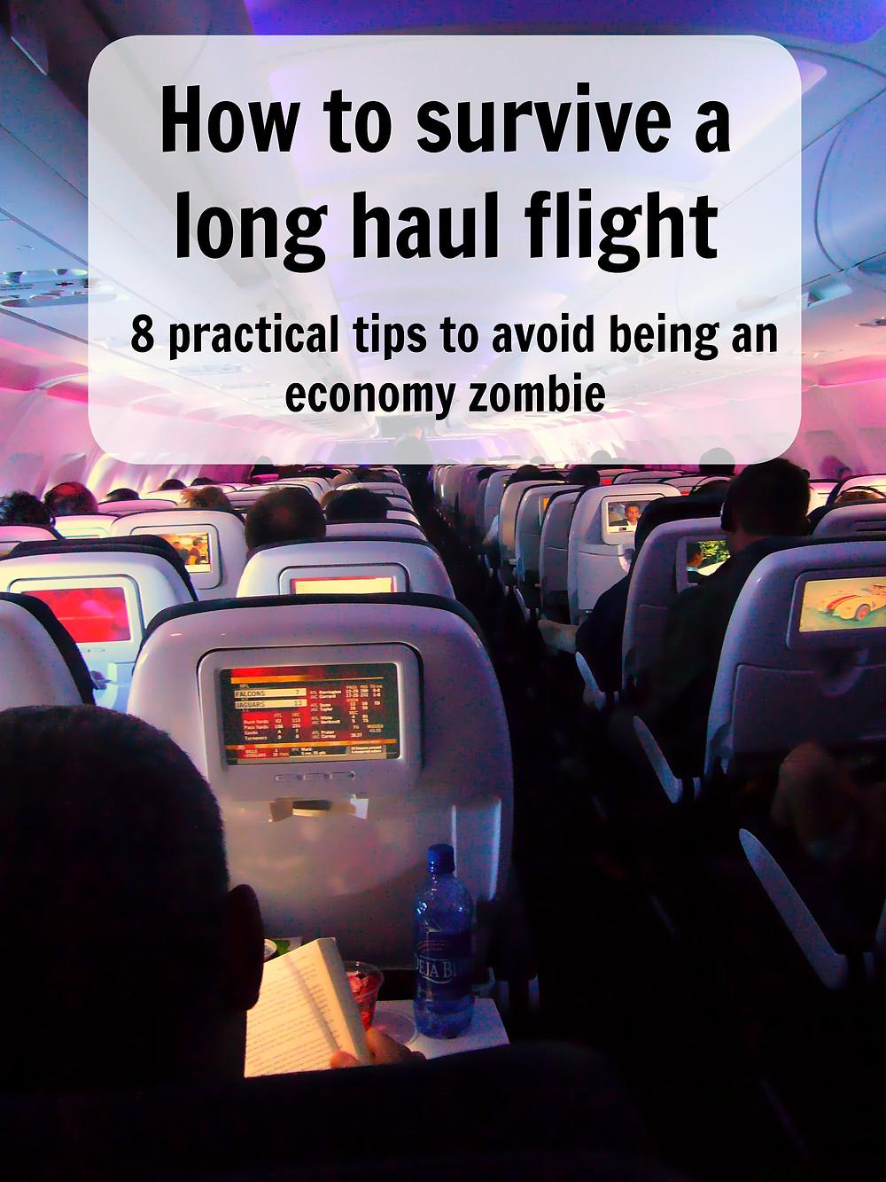Surviving long haul flights