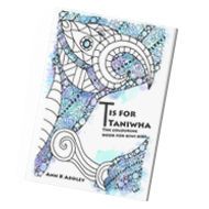 the colouring book for kiwi kids