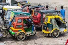 Indian taxi, auto rickshaw, tok tok