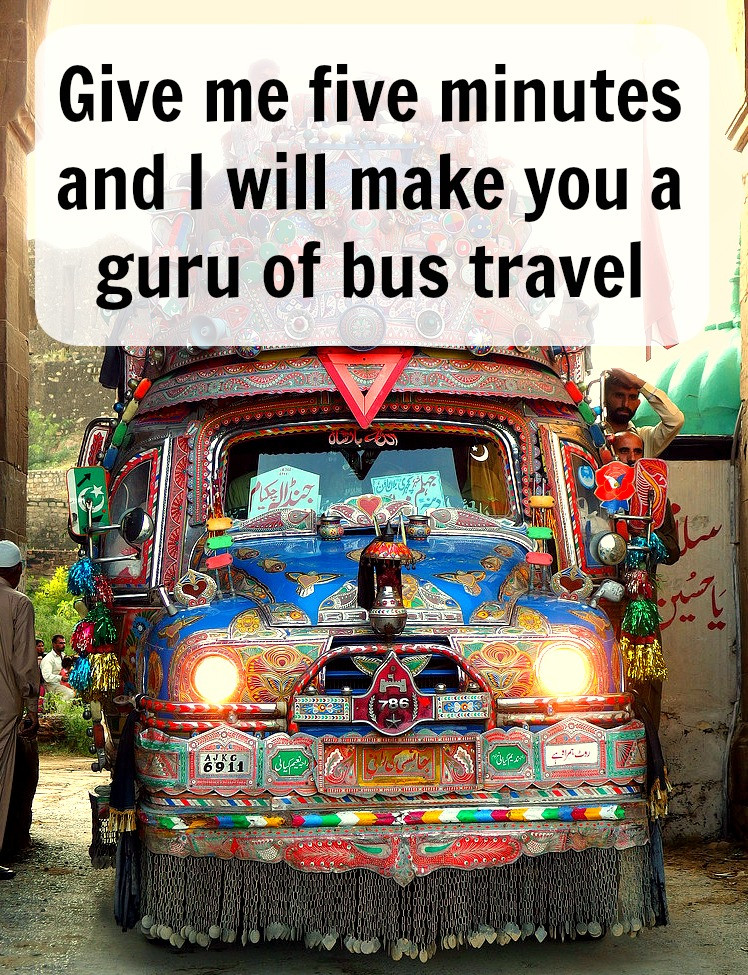 I will make you a guru of bus travel