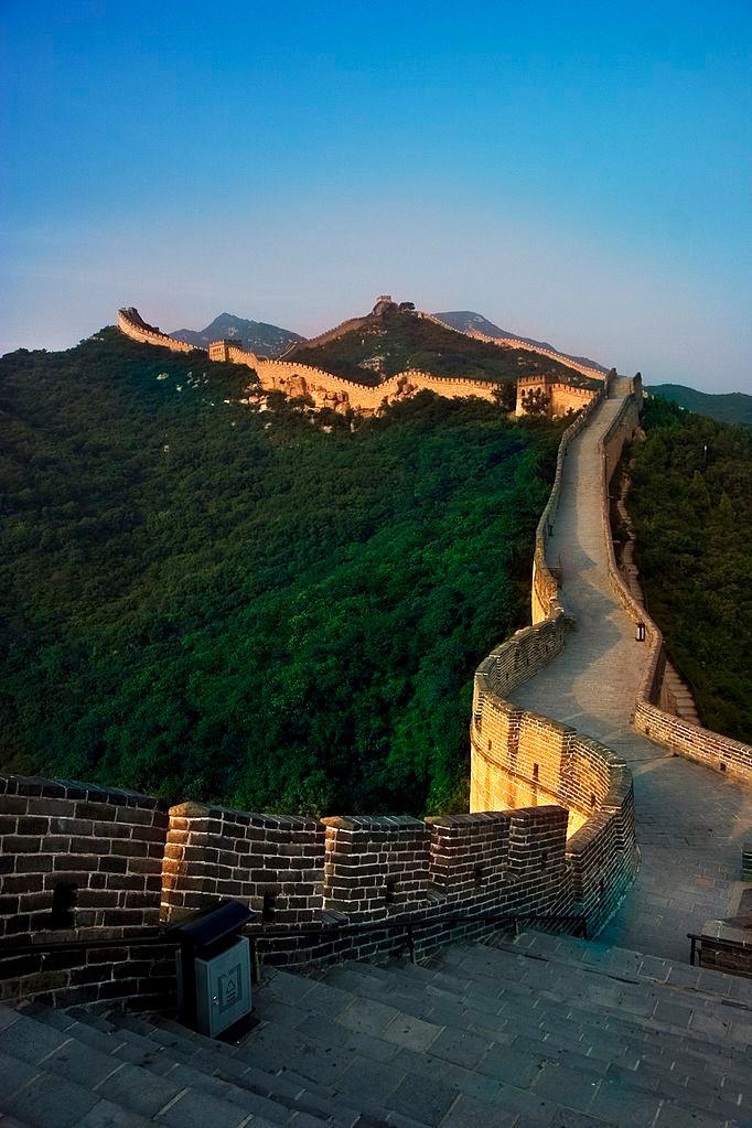 Badaling, great wall site