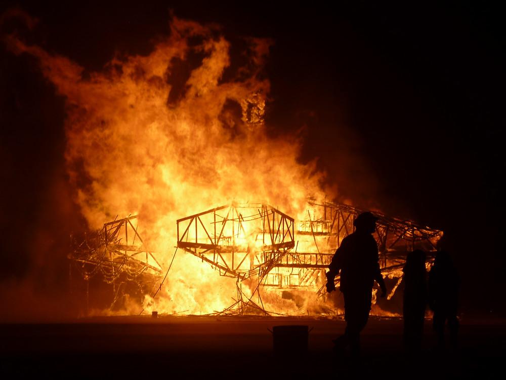 Man Burn 2013