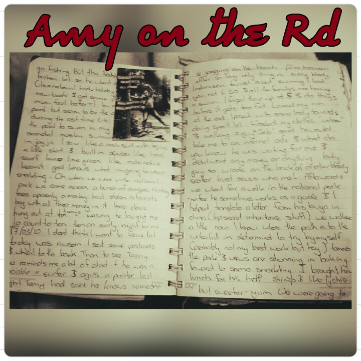 Amy on The Road journal