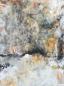 Resting #1.jpg Oil and cold wax painting