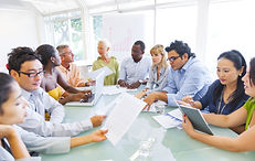 Diverse Business People Working Together