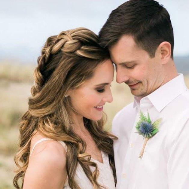 Beachy Bridal Braid by Pure Elegance- I
