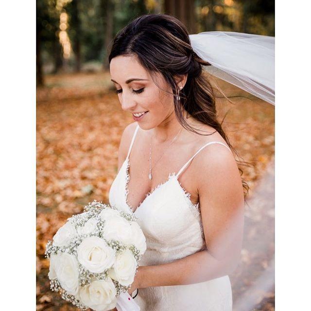 Oregon Fall Bride