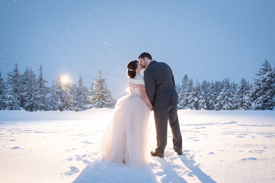 Winter wedding at Timberline Lodge Hair and Makeup by Pure Elegance Artistry