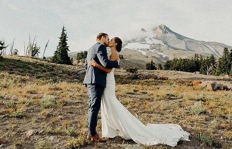 Mt. Hood Wedding makeup and hair