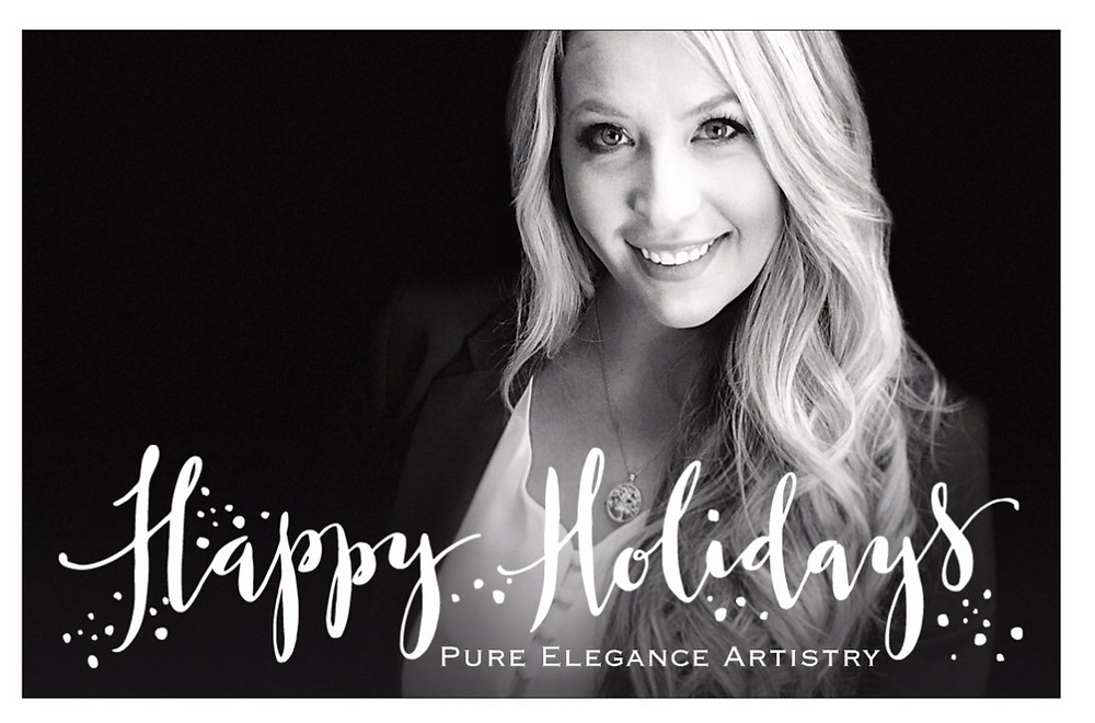 Merry Christmas From Pure Elegance Artistry