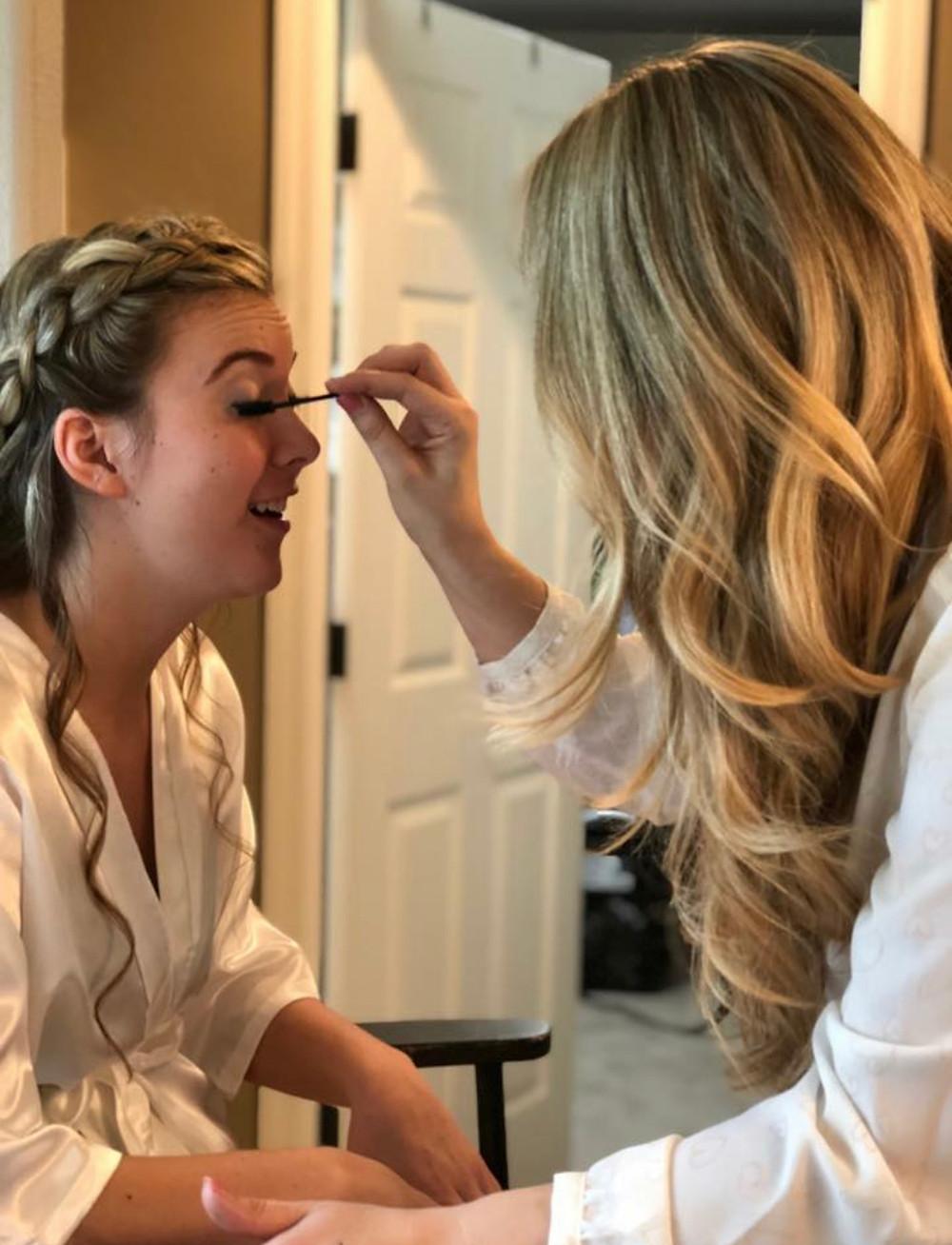 Bridal makeup by Pure Elegance