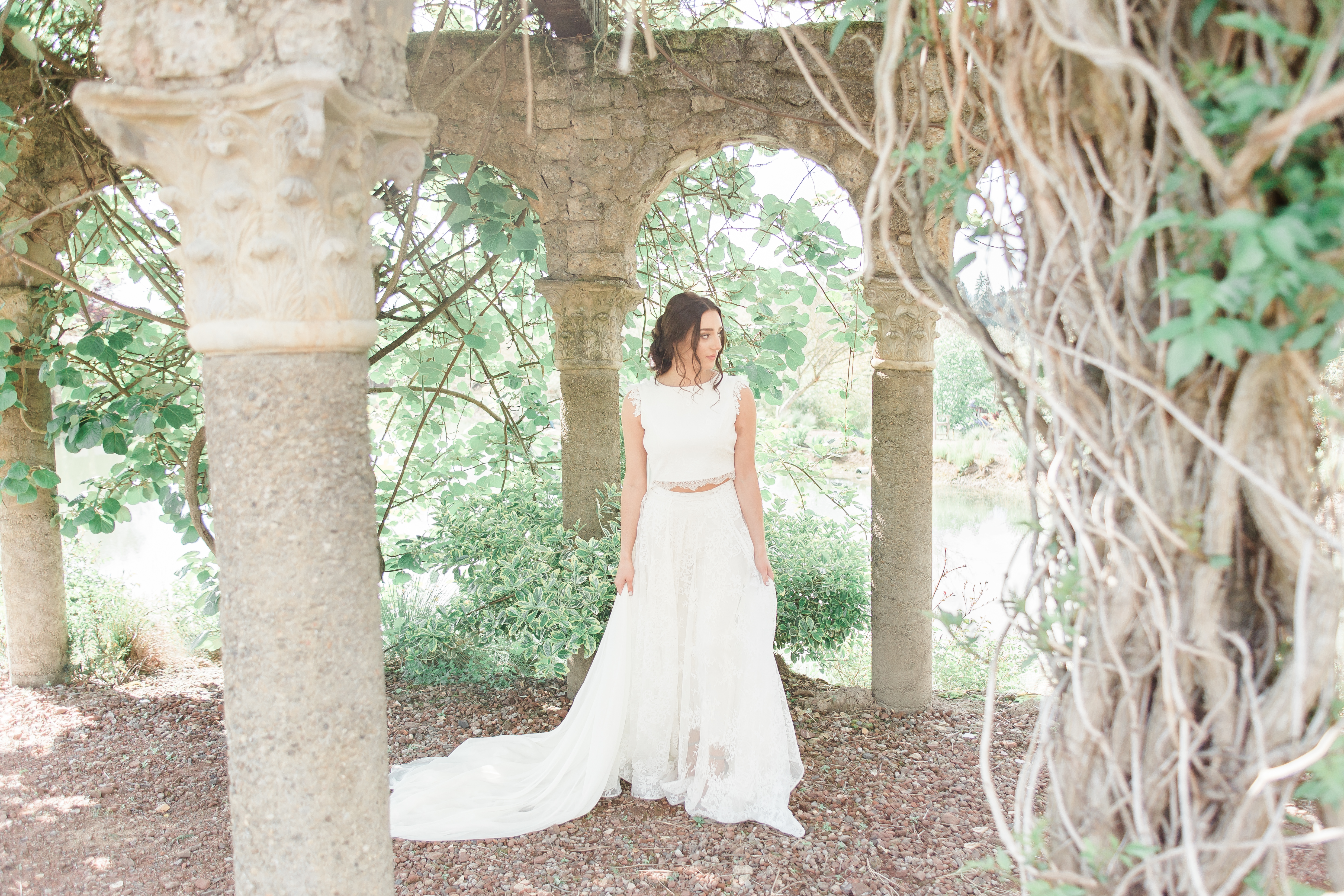 Romantic Glowing Bride