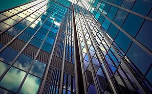 tall skyscraper corporate building