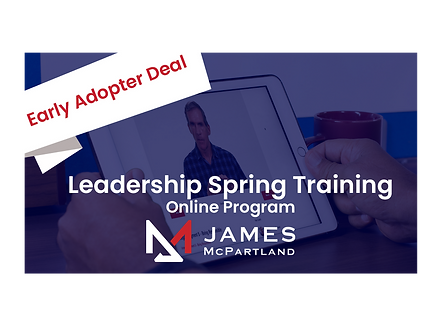 The Breakthrough Experience: Online Leadership Training Program | James McPartland