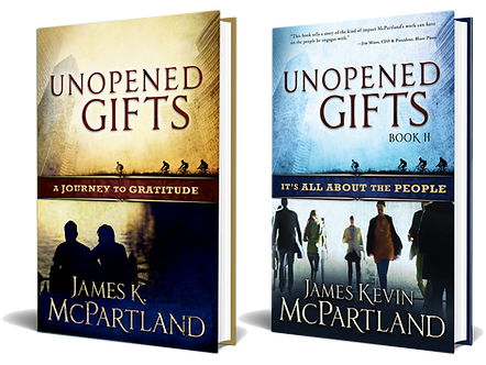 Unopened Gifts Book Series Set by James McPartland