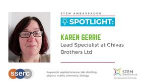 Spotlight: Karen Gerrie, Lead Specialist at Chivas Brothers Ltd