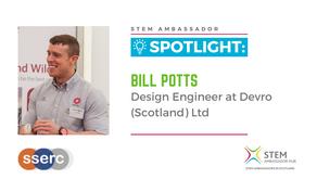 Spotlight: Bill Potts, Design Engineer at Devro (Scotland) Ltd