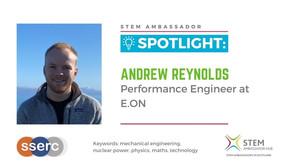 Spotlight: Andrew Reynolds, Performance Engineer at E.ON