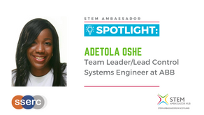 Spotlight: Adetola Oshe, Team leader/Lead Control Systems Engineer at ABB