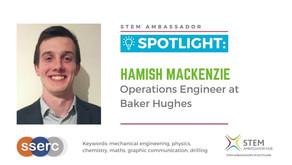 Spotlight: Hamish Mackenzie, Operations Engineer at Baker Hughes