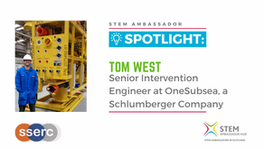 Spotlight: Tom West, Senior Intervention Engineer at OneSubsea, a Schlumberger company