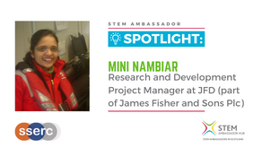 Spotlight: Mini Nambiar, Research and Development Project Manager at JFD