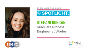 Spotlight: Stefani Duncan, Graduate Process Engineer at Worley