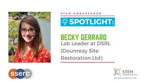 Spotlight: Becky Gerrard, Lab Leader at DSRL