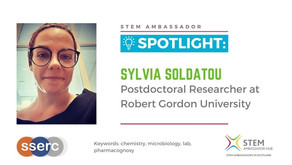 Spotlight: Sylvia Soldatou, Postdoctoral Researcher at Robert Gordon University