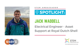 Spotlight: Jack Waddell, Electrical Engineer – Asset Support at Royal Dutch Shell