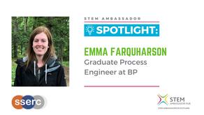 Spotlight: Emma Farquharson, Graduate Process Engineer at BP