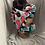 Thumbnail: Grey Two Piece Head wrap /Mask Set