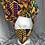 Thumbnail: Kente Cloth Set w/mask