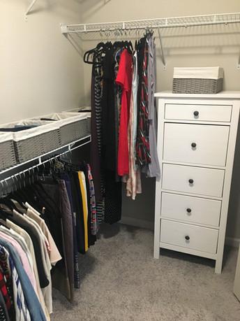 Closet After Tidying