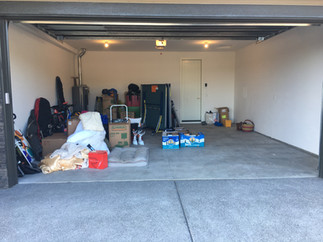 Garage During Move In