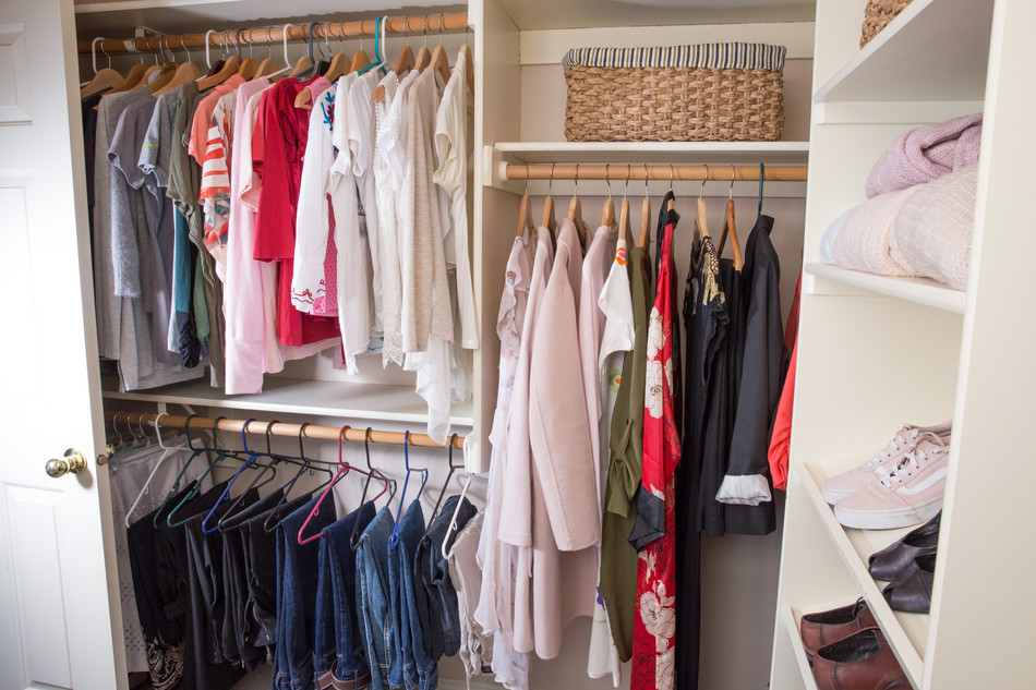 Master Closet After